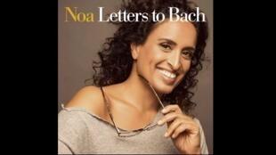 Couverture de l'album de Noa «Letters to Bach».