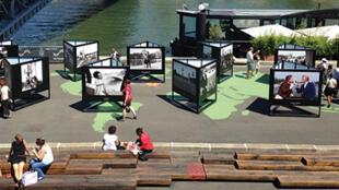«Stars de la Seine», une exposition à voir jusqu'au 21 septembre 2014.