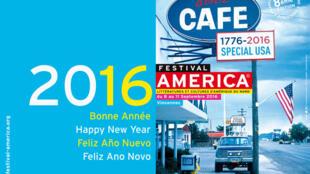 Affiche de la 8ème édition du festival « America ».