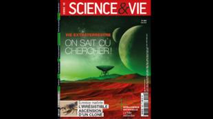 La couverture du numéro 1209 du mois de juin 2018 de Science & Vie.