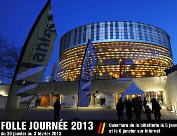 L'affiche de La Folle journée de Nantes.