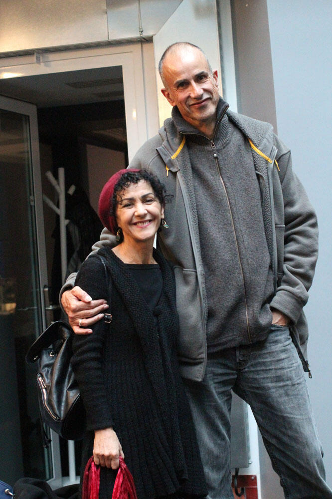 Angélique Ionatos et Antonio Placer à RFI.