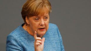 Angela Merkel Kansela wa Ujerumani