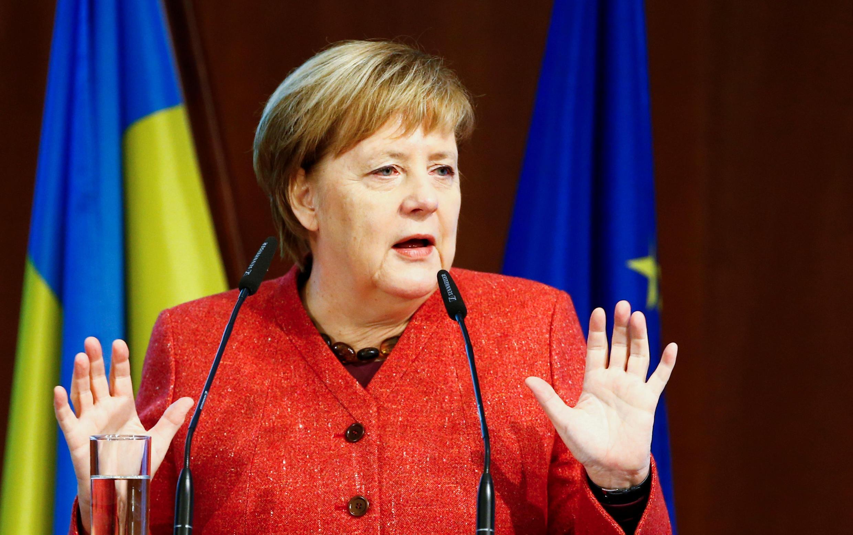La chancelière allemande Angela Merkel, à Berlin, le 29 novembre 2018.