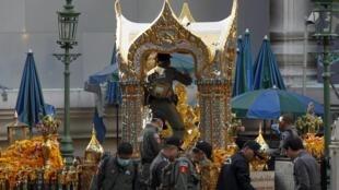 'Yan sanda sun kaddamar da farautar wanda ya kai hari a wajen ibadar Erawan a Bangkok