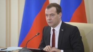 Дмитрий Медведев в Симферополе 31/03/2014