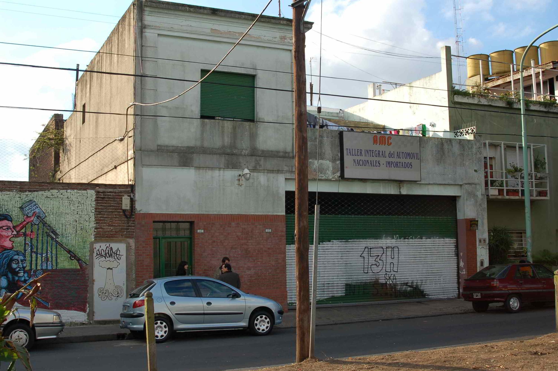 """Argentina. Centro clandestino """"Orletti"""" en la actualidad. Durante la dictadura argentina fue el centro de operaciones local del Plan Cóndor."""