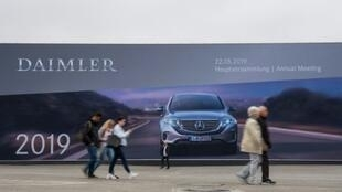 The last time Daimler booked a quarterly loss was in the fourth quarter of 2009