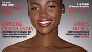 Capa da Revista brasileira Raça