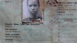 Affiche de l'exposition « Rwanda, 1994, notre histoire ? » au Mémorial de la Shoa, à Paris, du 4 avril au 17 novembre 2019.