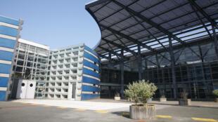 Le collège Jules Verne de Cergy-Pointoise.