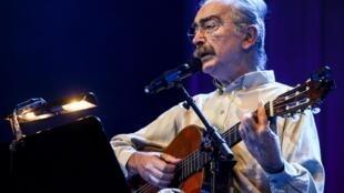 José Mário Branco, aqui em fotografia de arquivo de 22 de Outubro de 2009, faleceu em Lisboa com 77 anos.