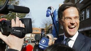 法广存档图片 - 荷兰首相吕特  Image d'archive RFI : Le Premier ministre néerlandais sortant, Mark Rutte (image d'illustration).