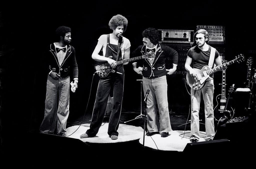 Stanley Clarke avec le groupe «Return to Forever» (Rochester - 1976).