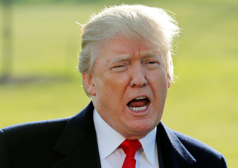 Ảnh minh họa : Tổng thống Mỹ Donald Trump.