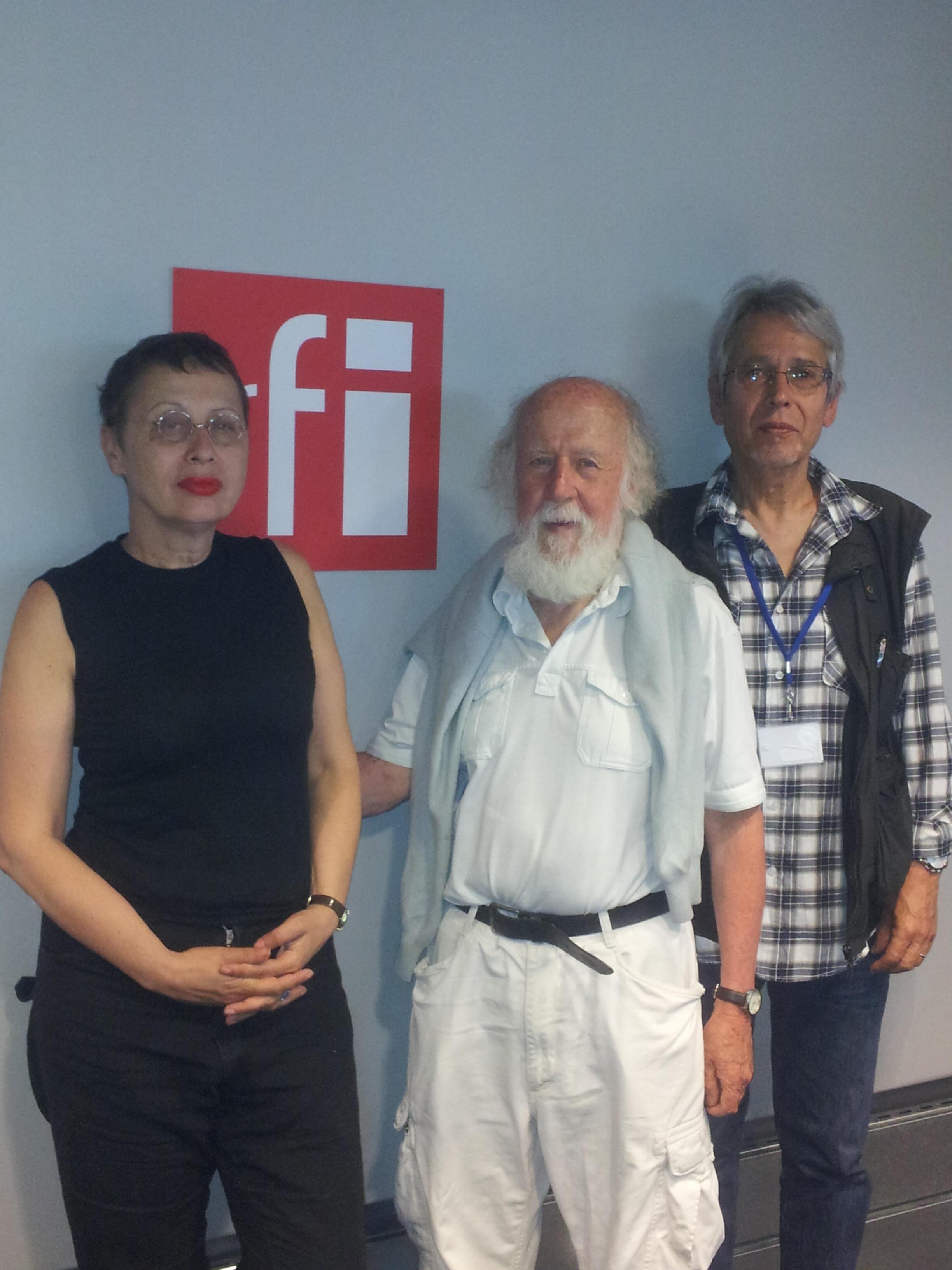 Anna Alter, Hubert Reeves et Jean-Yves Casgha