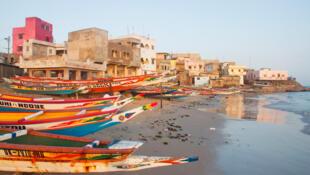 Une plage à Dakar.(Photo d'illustration)