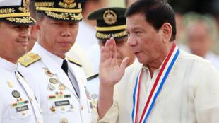 ប្រធានាធិបតីហ្វីលីពីន លោកRodrigo Duterte, នៅខែធ្នូ ឆ្នាំ ២០១៦