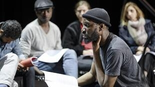 Le rappeur Abd Al Malik présente «Les Justes», d'Albert Camus au Théâtre du Châtelet à Paris.