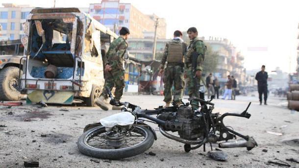 حمله انتحاری در ولایت ننگرهار در افغانستان
