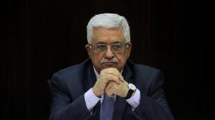 Mahmoud Abbas, président de l'Autorité palestinienne.