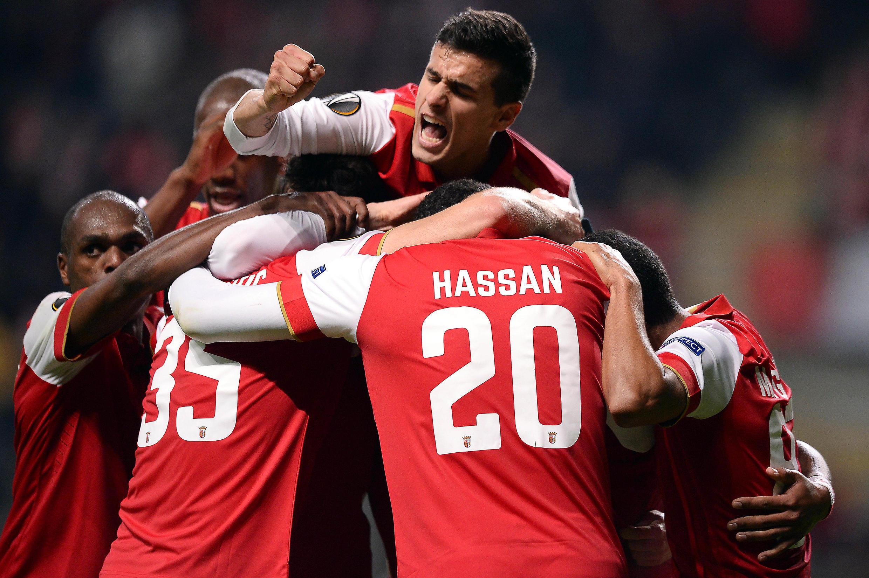 O Sporting de Braga conseguiu apurar-se para os dezasseis-avos-de-final da Liga Europa.