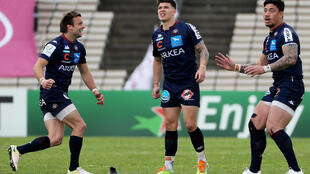 France fly-half Matthieu Jalibert kicked the winning penalty for Bordeaux-Begles in the quarter-final