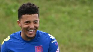 Manchester United and England forward Jadon Sancho