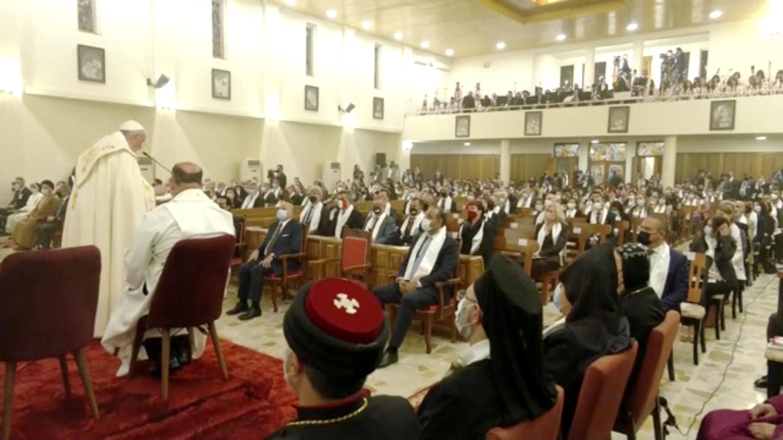 2021-03-06T155024Z_292861670_RC2R5M9KIOOL_RTRMADP_3_POPE-IRAQ-CHALDEAN-CATHEDRAL