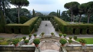 Les jardins de la résidence de Castel Gandolfo.