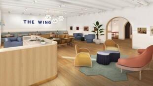 O coworking The Wing só para mulheres, tem escritórios em Nova York, Washington e em breve em São Francisco