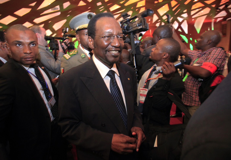 Dioncounda Traoré, président intérimaire du Mali, le 27 janvier 2013, à Addis-Abeba.