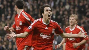 Yossi Benayoun (c) vient de tromper Iker Casillas, Liverpool tient sa victoire.
