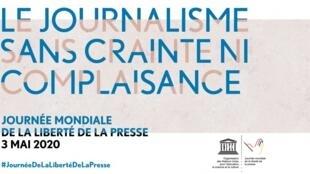 Journée mondiale de la liberté de la presse 2020 世界新聞自由日