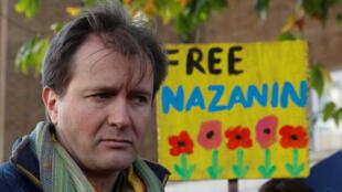 ریچارد راتکلیف همسر نازنین زاغری خبرنگار زندانی در ایران
