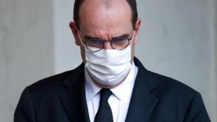 Grim task: French Prime Minister Jean Castex.