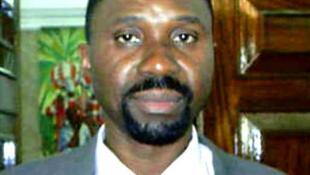 Jorge Bom Jesus, líder do MLSTP-PSD e candidato às legislativas de 7 de Outubro em São Tomé e Príncipe.
