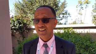 Hézékiel Tassé, responsable de programme à l'Agence éthiopienne pour les  transformations agricoles