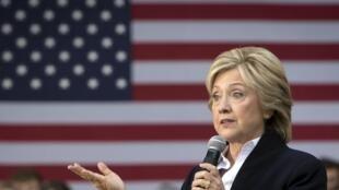 Hillary Clinton, en septiembre de 2015.