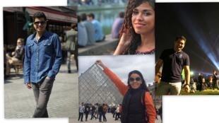 Os brasileiros Cauê, Monize, Fernanda e André já têm programação para o réveillon em Paris