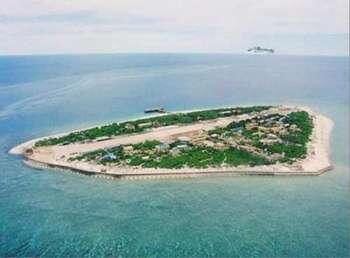 Đảo Ba Bình (Đài Loan gọi là Thái Bình) là đảo lớn nhất trong quần đảo Trường Sa, Biển Đông