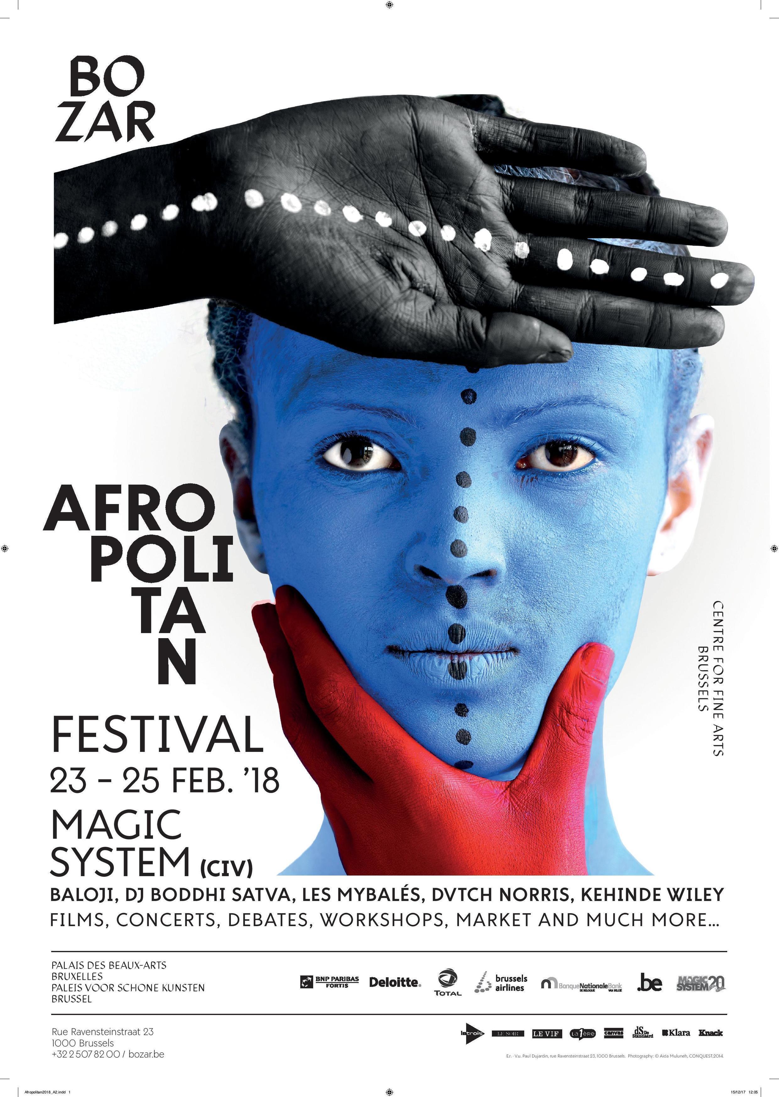 L'affiche du Festival Afropolitan.