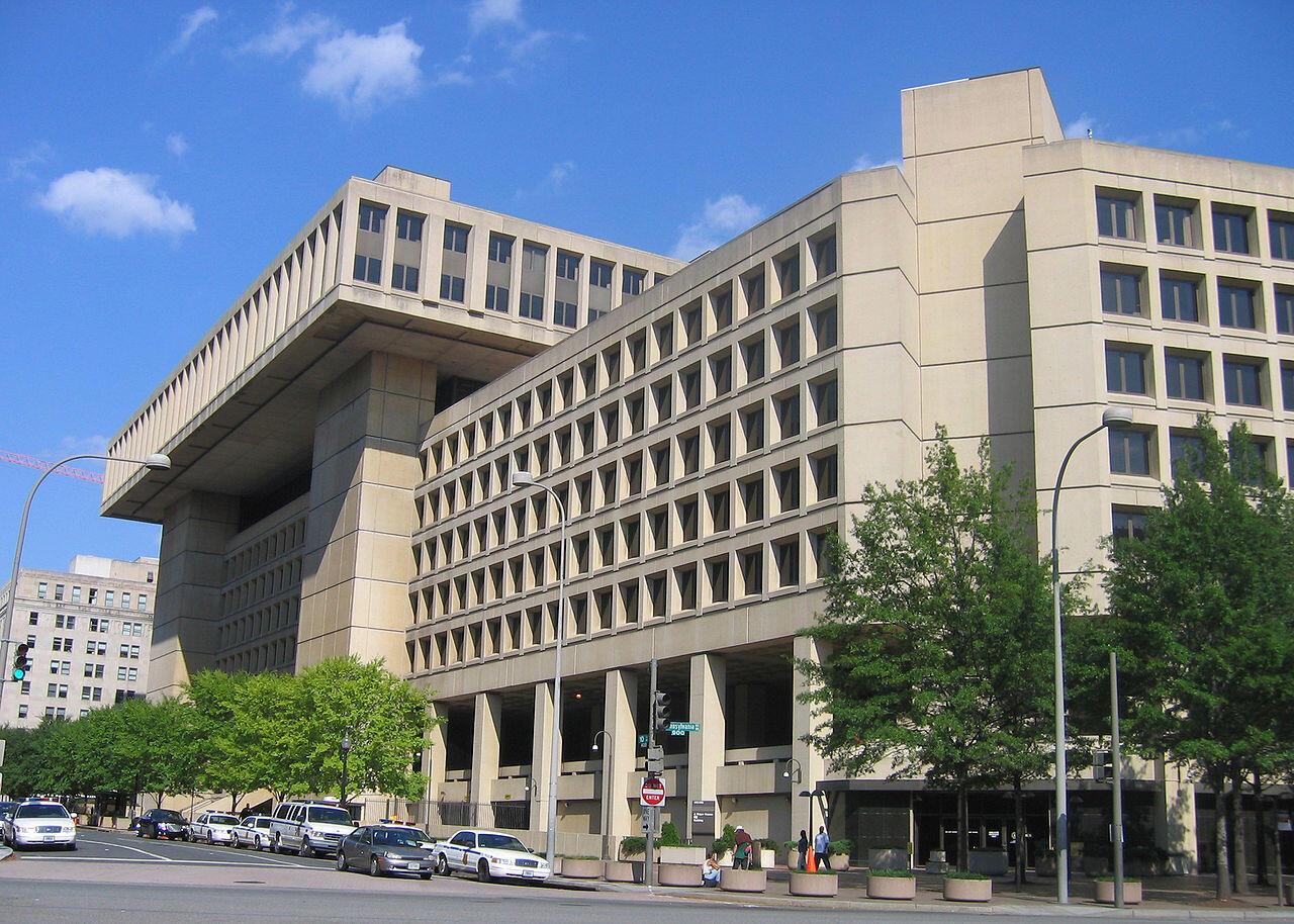 Trụ sở của Cục Điều Tra Liên Bang Mỹ FBI.