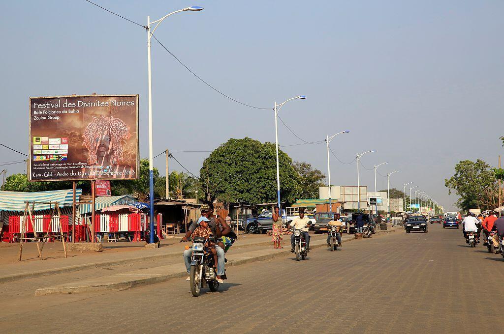 Une rue de Lomé. L'État d'urgence sanitaire est toujours en vigueur et ce jusqu'en mars 2021. Toute la région des savanes dans l'extrême nord est placée sous couvre-feu et bouclée. (Image d'illustration)