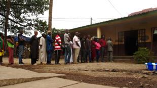 Jour de vote en Guinée, ici à Conakry (image d'illustration).