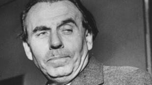 Louis-Ferdinand Céline (1894-1961) en 1951.