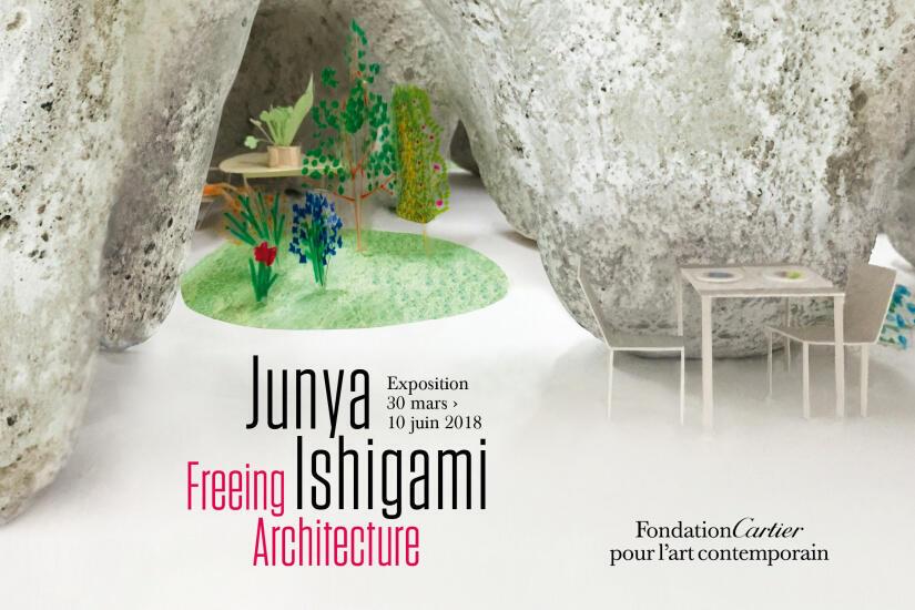 卡地亚当代艺术中心从3月30日推出《石上纯也—释放建筑》个展