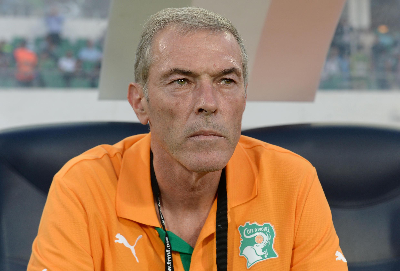 Michel Dussuyer, le sélectionneur de la Côte d'Ivoire.