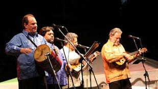 """El grupo musical venezolano Serenata Guayanesa"""", creado en 1971, se ha especializado en música tradicional criolla."""
