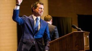Peter Paul Montgomery Buttigieg, ex-mayor, decidiu abandonar a corrida pela nomeação do partido democrata